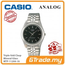 CASIO Men MTP-1129A-1A Ananlog Watch Stainless Steel Band [PRE]