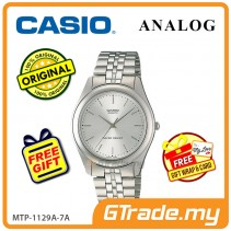 CASIO Men MTP-1129A-7A Ananlog Watch Stainless Steel Band [PRE]