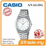 CASIO Men MTP-1129A-7B Ananlog Watch Stainless Steel Band [PRE]