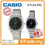 CASIO Couple MTP-1129A-1A & LTP-1129A-1A Ananlog Watches [PRE]