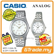 CASIO Couple MTP-1129A-7B & LTP-1129A-7B Ananlog Watches [PRE]