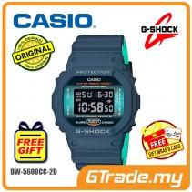 CASIO G-Shock DW-5600CC-2D Men Digital Watch Navy + Sax Blue [PRE]