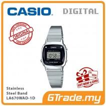 CASIO Women LA670WAD-1D Digital Watch Natural diamonds [PRE]