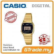 CASIO Women LA670WGAD-1D Digital Watch Natural diamonds [PRE]