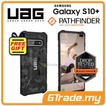 UAG Urban Armor Gear Pathfinder Tough Case | Samsung Galaxy S10 Plus Midnight *Free Gift