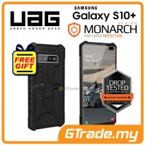 UAG Urban Armor Gear Monarch Military Case | Samsung Galaxy S10 Plus Black *Free Gift