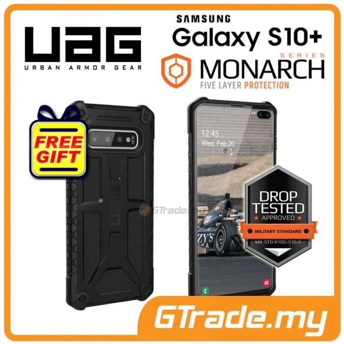 92462a284 UAG Urban Armor Gear Monarch Military Case | Samsung Galaxy S10 Plus Black * Free Gift