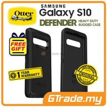 OTTERBOX Defender Rugged Case Samsung Galaxy S10 Black *Free Gift