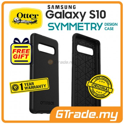OTTERBOX Symmetry Slim Case Samsung Galaxy S10 Black *Free Gift