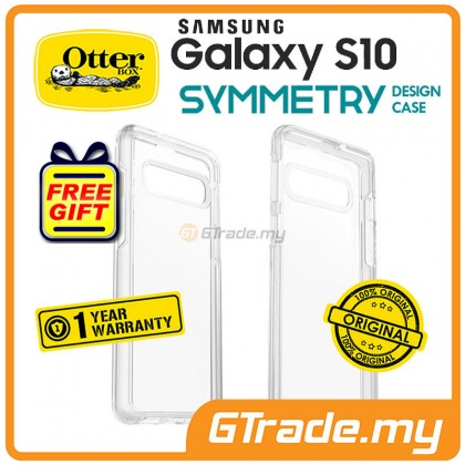 OTTERBOX Symmetry Clear Case Samsung Galaxy S10 Clear *Free Gift