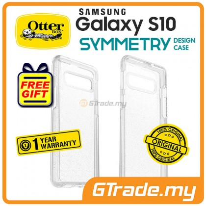 OTTERBOX Symmetry Clear Case Samsung Galaxy S10 Stardust *Free Gift