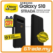 OTTERBOX Strada Leather Case Samsung Galaxy S10 Shadow *Free Gift
