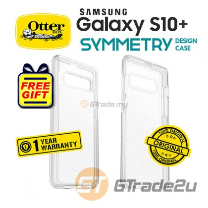 OTTERBOX Symmetry Clear Case Samsung Galaxy S10 Plus Stardust *Free Gift