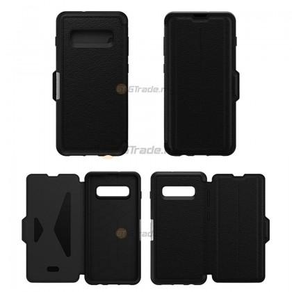 OTTERBOX Strada Leather Case Samsung Galaxy S10 Plus Shadow *Free Gift
