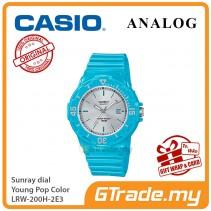 CASIO Women Kids LRW-200H-2E3 Analog Watch Young Pop Color [PRE]