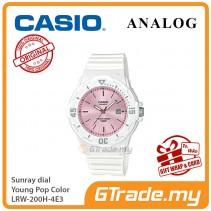 CASIO Women Kids LRW-200H-4E3 Analog Watch Young Pop Color [PRE]