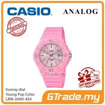 CASIO Women Kids LRW-200H-4E4 Analog Watch Young Pop Color [PRE]
