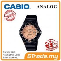 CASIO Women Kids LRW-200H-9E2 Analog Watch Young Pop Color [PRE]