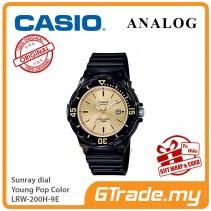 CASIO Women Kids LRW-200H-9E Analog Watch Young Pop Color [PRE]