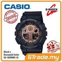 CASIO G-Shock GA-100MMC-1A Digital Watch Black x Rosegold Color [PRE]