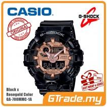 CASIO G-Shock GA-700MMC-1A Digital Watch Black x Rosegold Color [PRE]