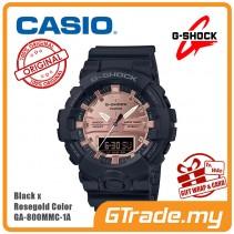 CASIO G-Shock GA-800MMC-1A Digital Watch Black x Rosegold Color [PRE]