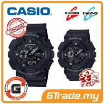 [G-ZONE] CASIO G-Shock x Baby-G GA-135DD-1A & BA-135DD-1A Couple Watches