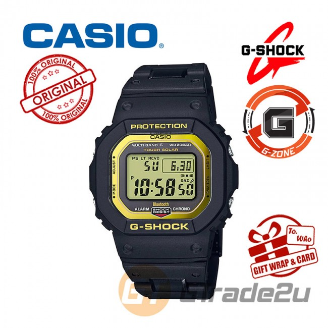 [G-ZONE] CASIO G-SHOCK GW-B5600BC-1D Digital Watch | Stainless Steel Resin Composite Band