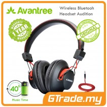 AVANTREE Wireless Bluetooth Over Ear Headphones Audition  Hi-Fi aptX NFC