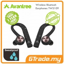 AVANTREE Wireless Bluetooth Sport Running Earphones TWS109 Mono & Stereo Mode