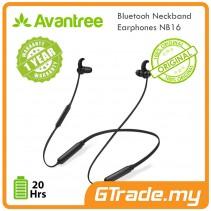 AVANTREE Wireless Bluetooth Neckband Earphones NB16 Sweatproof Sport