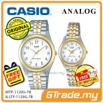 CASIO Couple MTP-1129G-7B & LTP-1129G-7B Analog Watches [PRE]