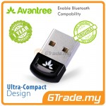 AVANTREE USB Bluetooth 4.0 Adapter Dongle for PC Laptop Computer Desktop