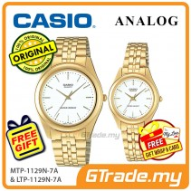 CASIO Couple MTP-1129N-7A & LTP-1129N-7A Analog Watches [PRE]