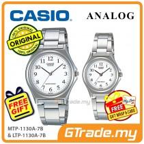 CASIO Couple MTP-1130A-7B & LTP-1130A-7B Analog Watch [PRE]