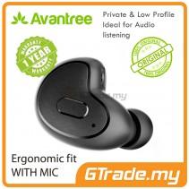 AVANTREE Mini Bluetooth Headset Apico Private Hide in the ear