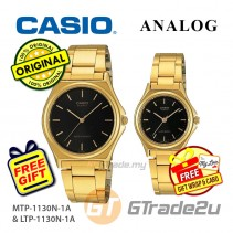CASIO Couple MTP-1130N-1A & LTP-1130N-1A Analog Watches [PRE]