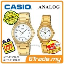 CASIO Couple MTP-1130N-7B & LTP-1130N-7B Analog Watches [PRE]