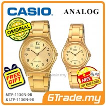 CASIO Couple MTP-1130N-9B & LTP-1130N-9B Analog Watches [PRE]