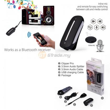 AVANTREE Wireless Bluetooth 4.2 Receiver for Speakers Wired Headphones Headset