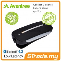 AVANTREE Wireless Bluetooth 4.2 Receiver for Speakers Wired Headphones Headset