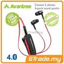 AVANTREE Bluetooth Wireless Stereo Music Headset Clipper Bluetooth V4.0 aptX