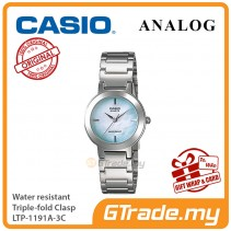 CASIO Ladies LTP-1191A-3C Analog Watch Jam Tangan Wanita [PRE]