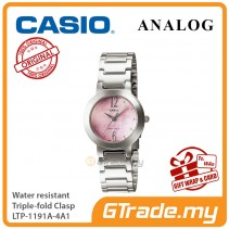 CASIO Ladies LTP-1191A-4A1 Analog Watch Jam Tangan Wanita [PRE]