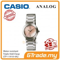 CASIO Ladies LTP-1191A-4A2 Analog Watch Jam Tangan Wanita [PRE]