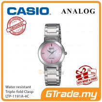 CASIO Ladies LTP-1191A-4C Analog Watch Jam Tangan Wanita [PRE]