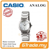 CASIO Ladies LTP-1191A-7A Analog Watch Jam Tangan Wanita [PRE]