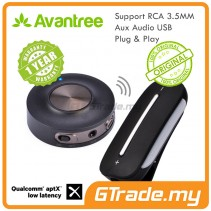 AVANTREE Wireless Bluetooth 4.2 Transmitter Receiver Priva 3 Clipper Pro Home Audio