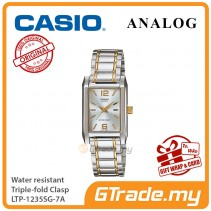 CASIO Ladies LTP-1235SG-7A Analog Watch Jam Tangan Wanita [PRE]