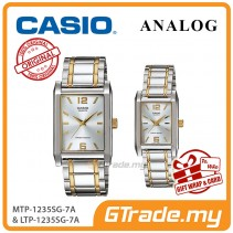 CASIO Couple MTP-1235SG-7A & LTP-1235SG-7A Analog Watch [PRE]